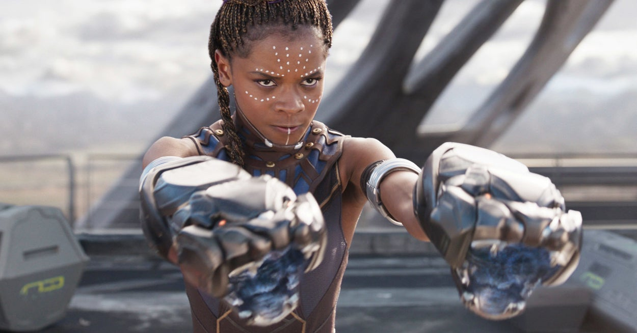 """Letitia Wright Pushes Back Against Rumors That She Spread Anti-Vax Theories On """"Black Panther 2"""" Set"""