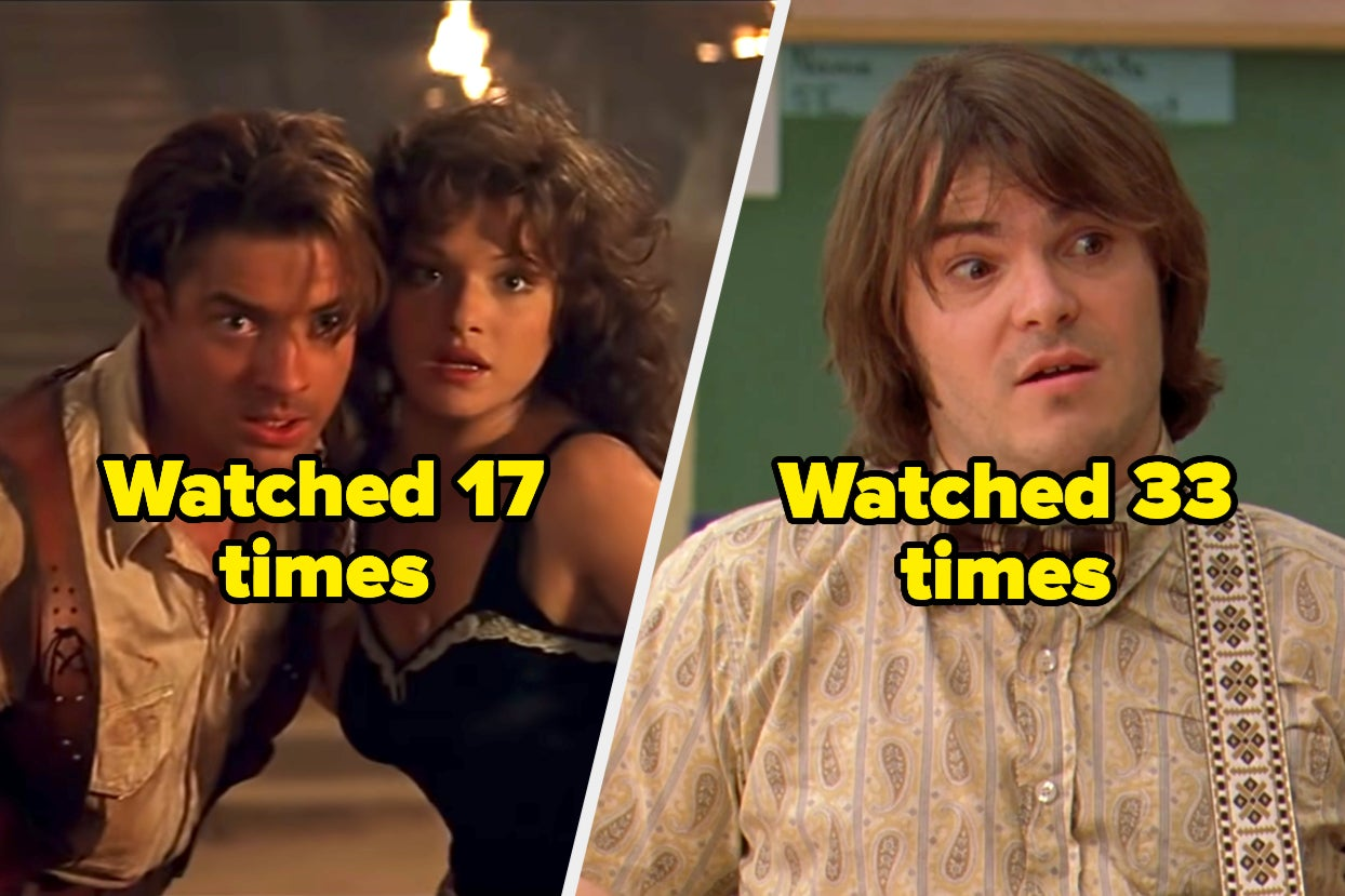 My Coping Mechanism Is Watching Movies These Movies Over And Over — How Many Of Them Have You Seen?