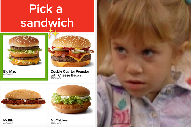 This McDonald's Quiz Was Designed To Guess The Age Of Anyone Who Takes It — Can We Get It Right?