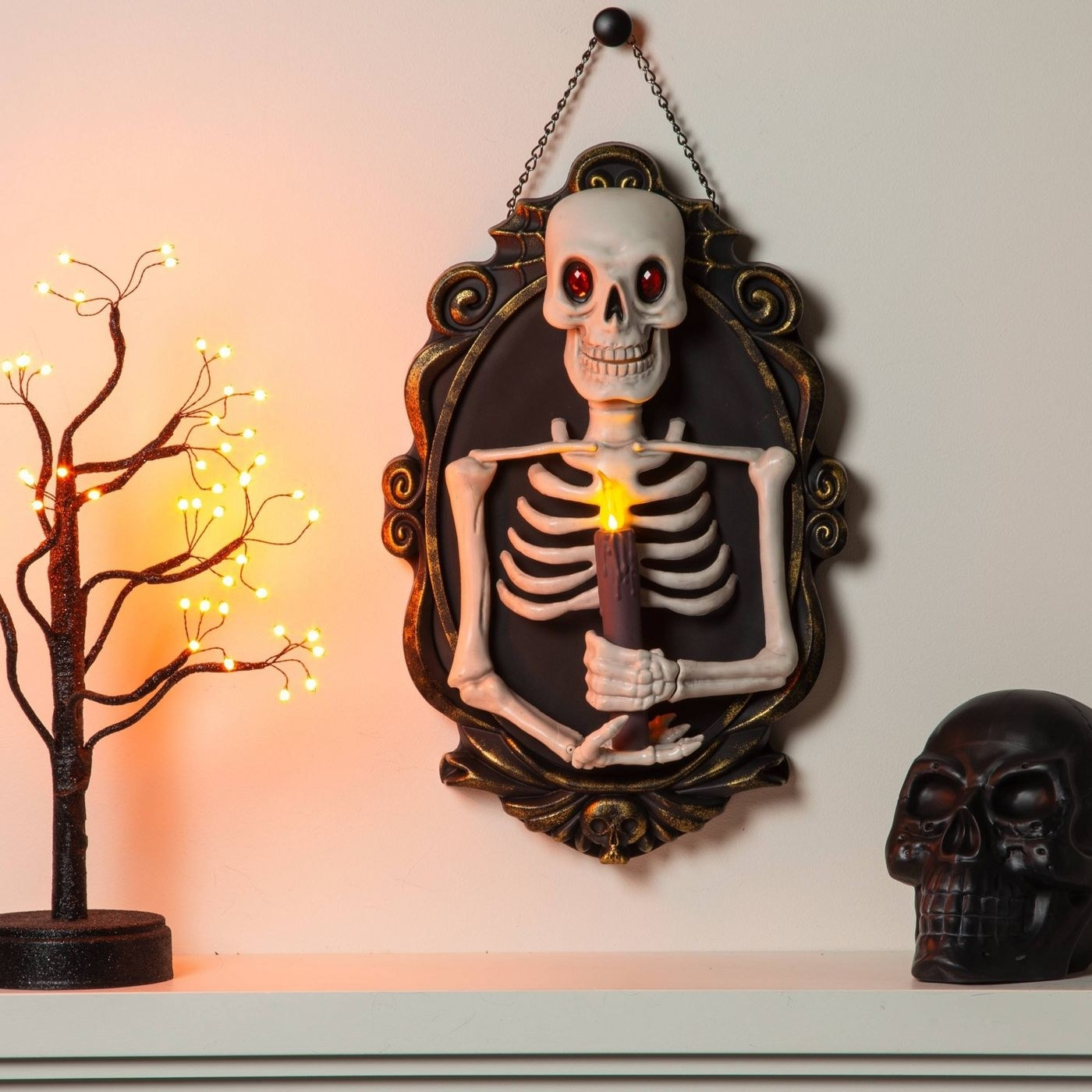 An animated skeleton