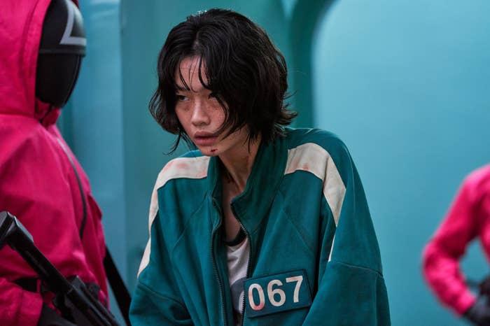 Kang Sae byeok is player 067.