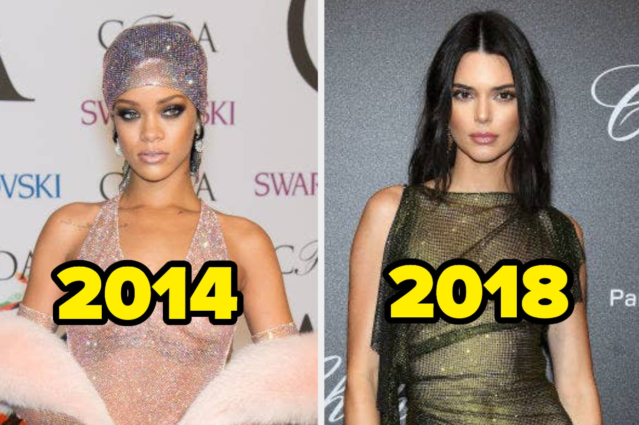 21 Celebrity Red Carpet Looks From The Past Decade That Show The Naked Look Is Iconic