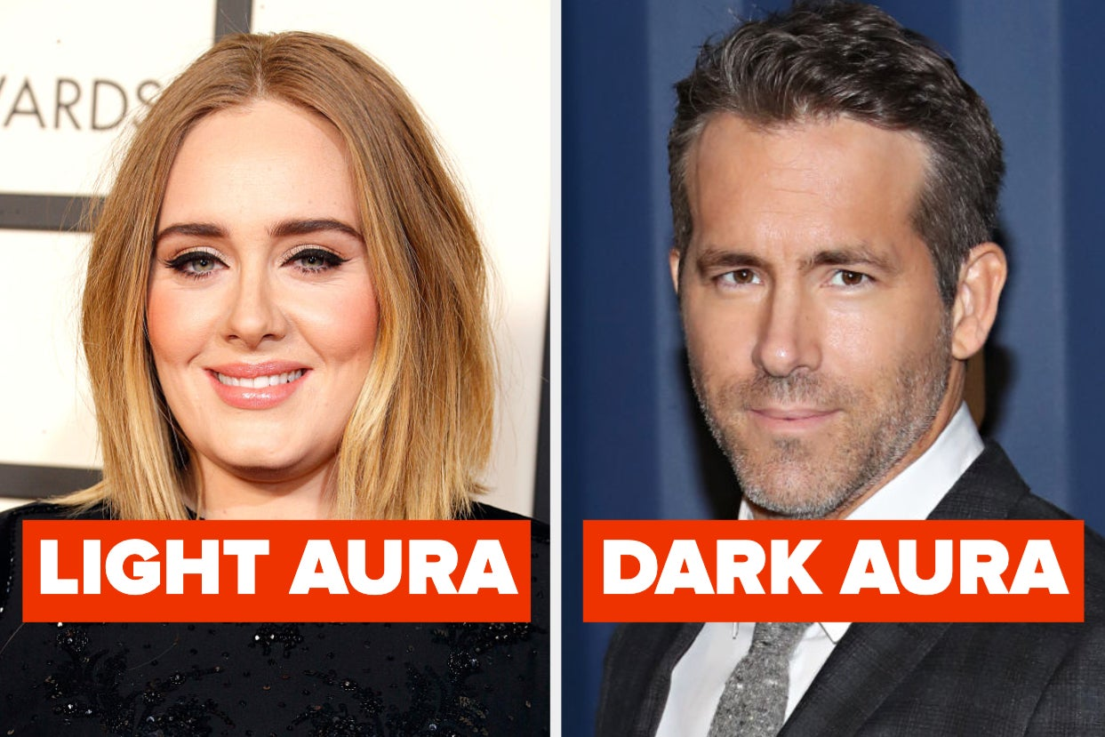 Which Of These Celebs Have Light Auras, And Which Ones Have Dark?