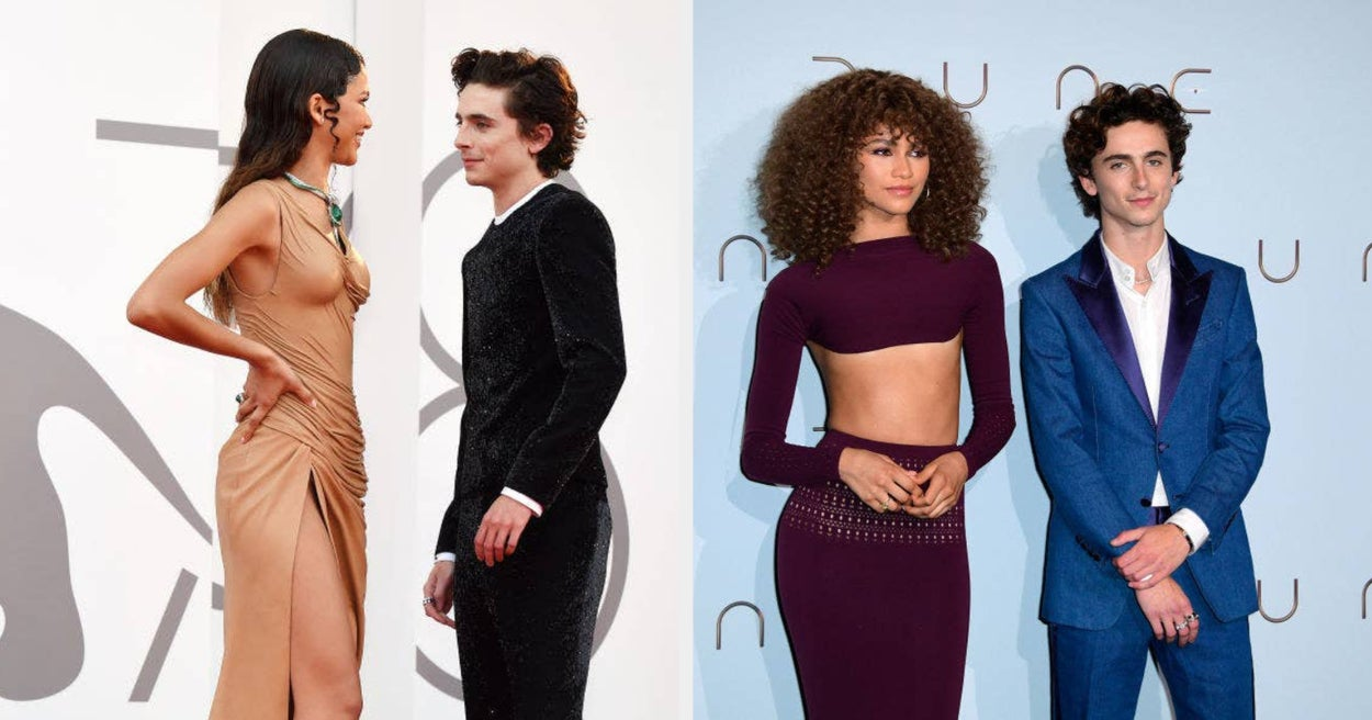 """Zendaya Said Timothée Chalamet Became Her """"Bestie"""" On The Set Of """"Dune,"""" And I'm Not Sure Whose Shoes I'd Rather Be In More"""