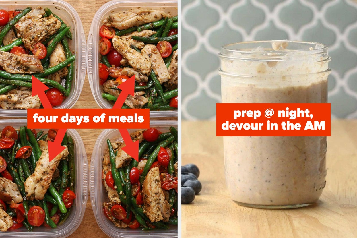 If You Immediately Roll Your Eyes At The Thought Of Meal Prep, I'm Asking You Nicely To Check Out These 18 Actually Delicious Recipes
