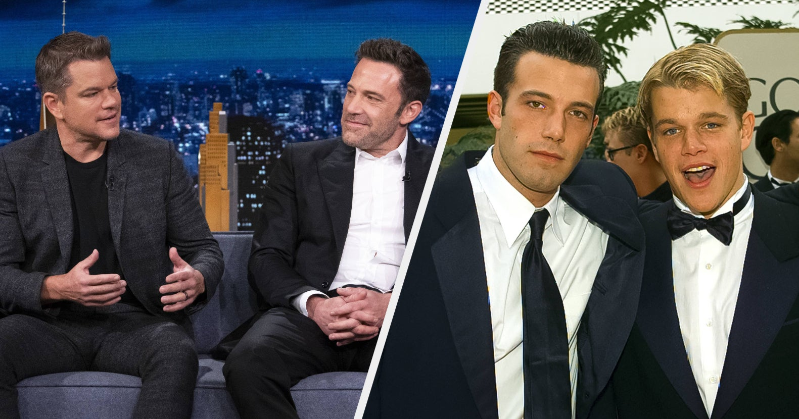 """Ben Affleck And Matt Damon Revealed How Writing """"Good Will Hunting"""" Nearly Killed Their Friendship And Why It Took Them Another 25 Years Before Working Together Again"""