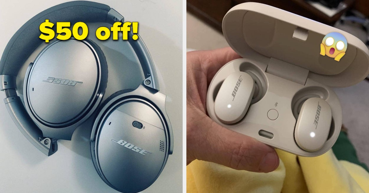 If Bose Headphones Are On Your Wishlist, Amazon Is Offering Up To 30% Off During Their Epic Daily Deals