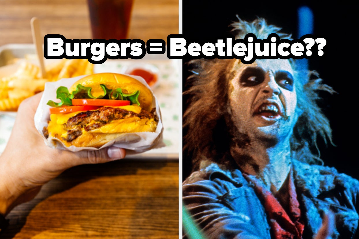 Eat Your Way Through This Sweet And Savory 8-Course Meal And We'll Reveal If You're More Beetlejuice Or Lydia
