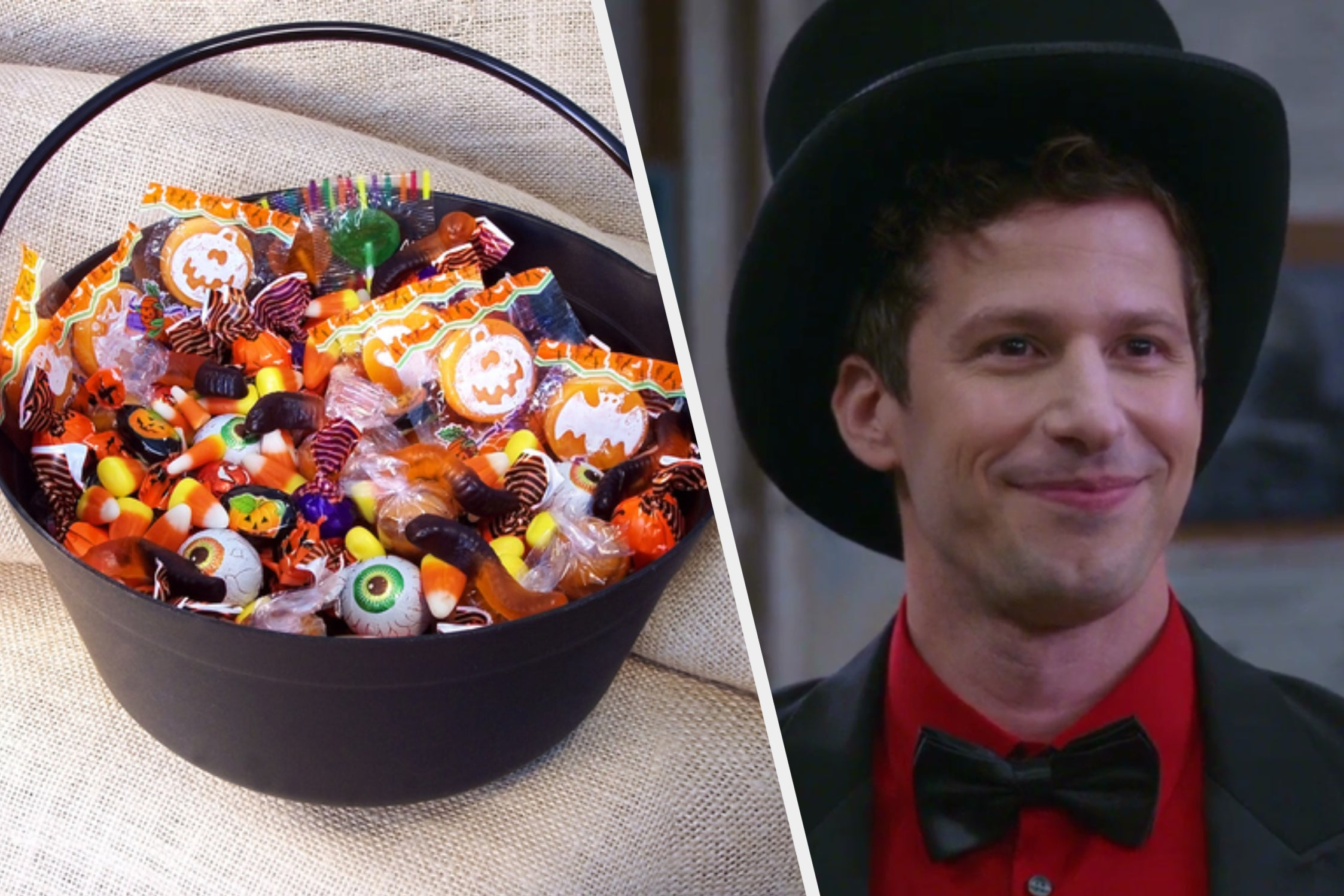 """Collect Your Favorite Halloween Treats To Reveal Which """"Brooklyn Nine-Nine"""" Character You Are"""
