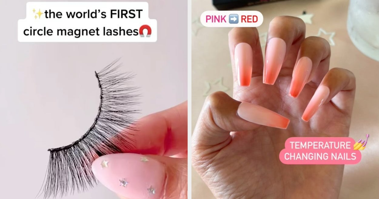 If You Hate Traditional Falsies And Boring Manicures, Glamnetic Will Probably Blow Your Mind