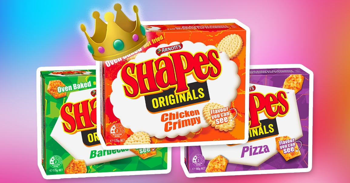 Chicken Crimpy Is Australia's Favourite Shapes Flavour And I Can't Believe It's Not Pizza Or BBQ TBH thumbnail