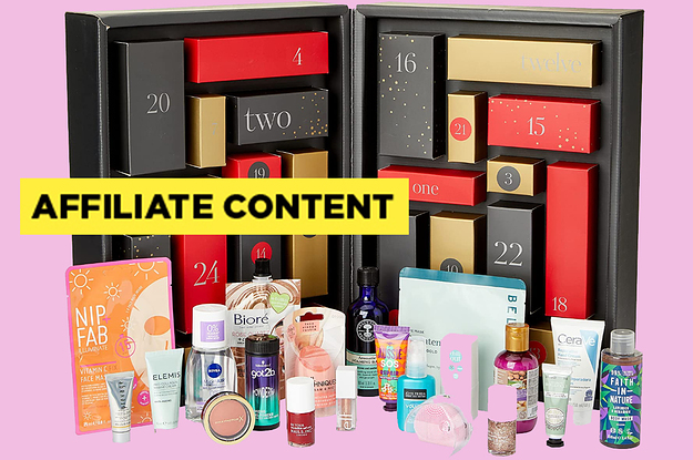 Amazon's Beauty Advent Calendar Is Worth £260 But Only Costs £70, So What Exactly Are You Waiting For?
