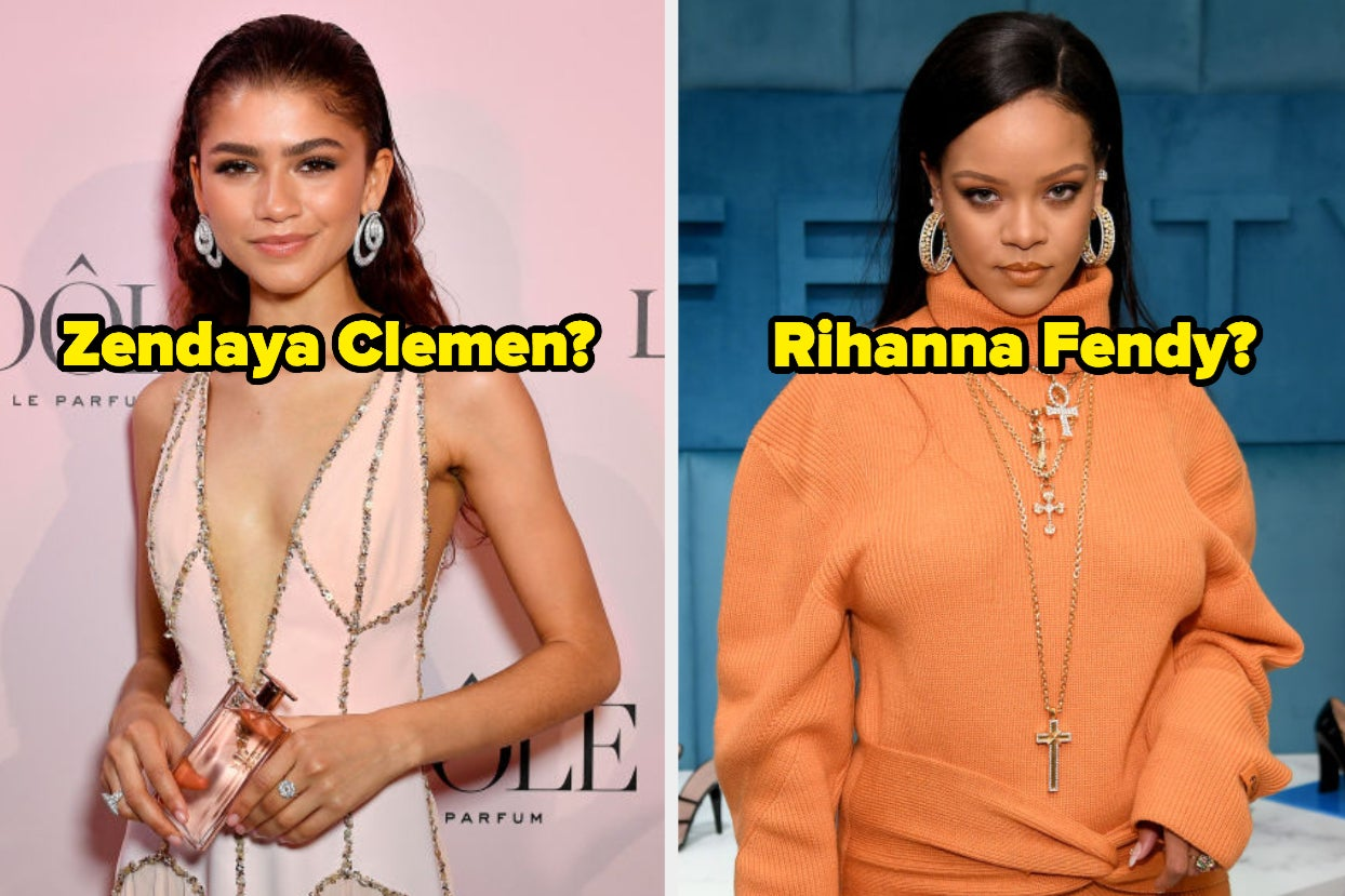 Do You Actually Know The Last Names Of These Super Famous Celebs?