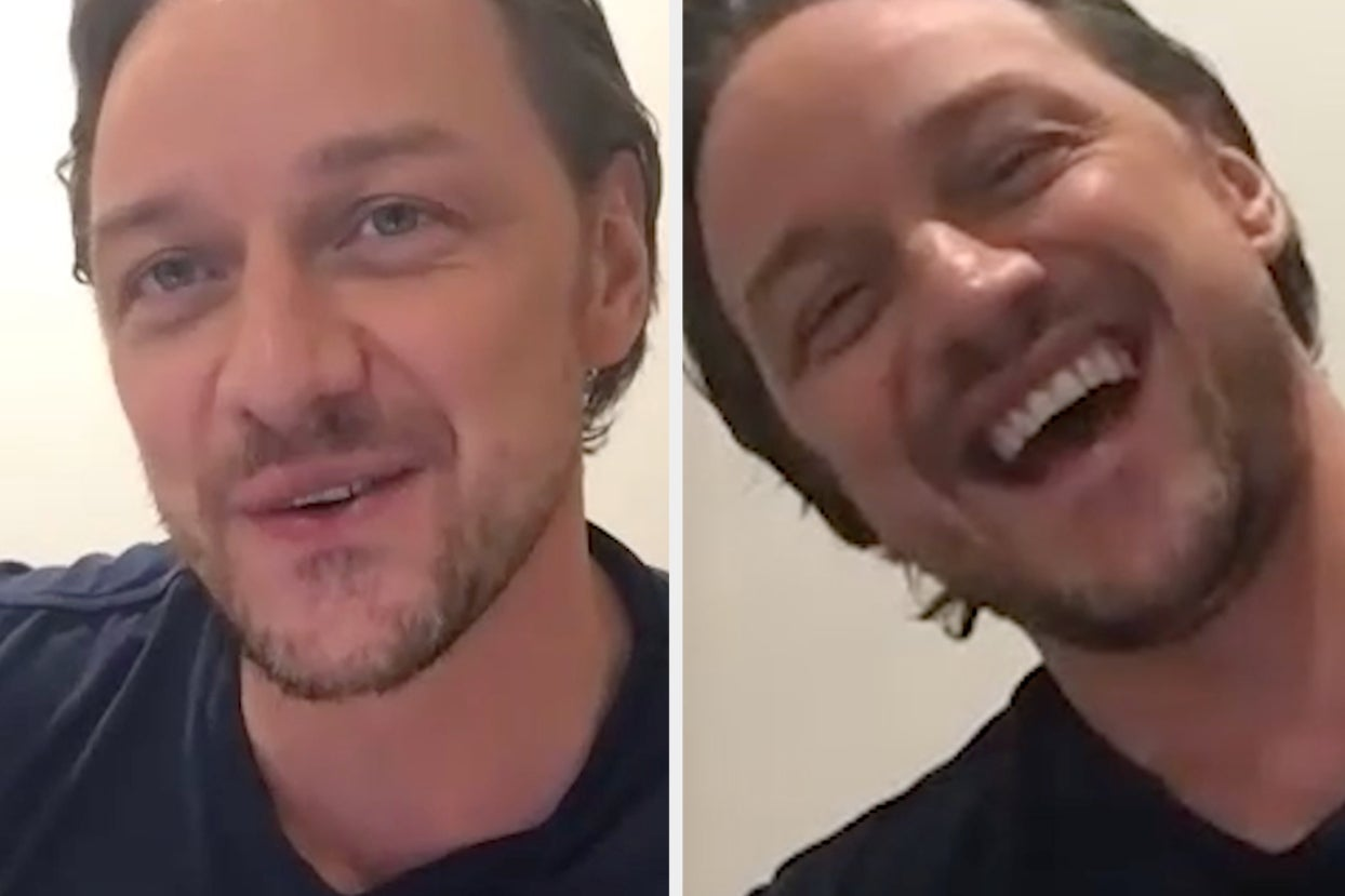 James McAvoy Just Read A Bunch Of Thirst Tweets About Himself, So Yes, You're Welcome