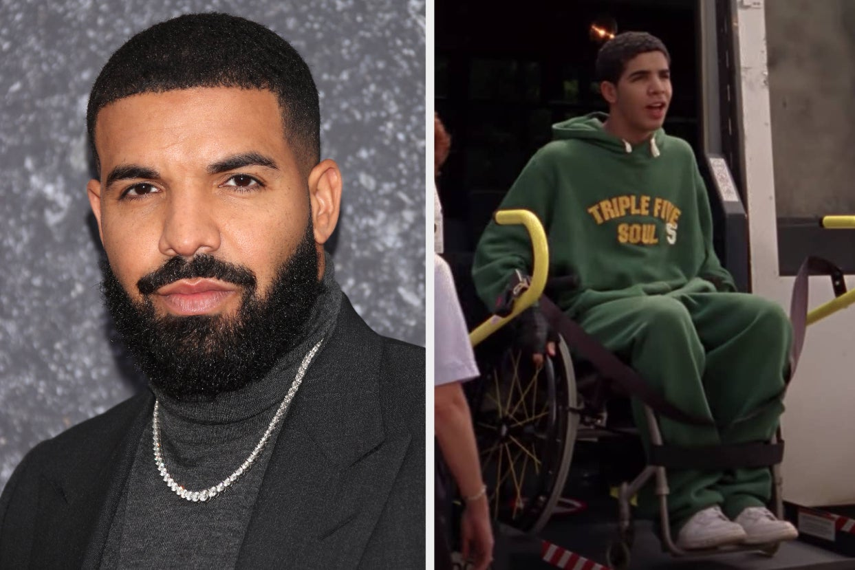 """Drake Threatened To Quit """"Degrassi"""" Because His Character Was In A Wheelchair And He Worried It Made Him """"Look Soft"""""""