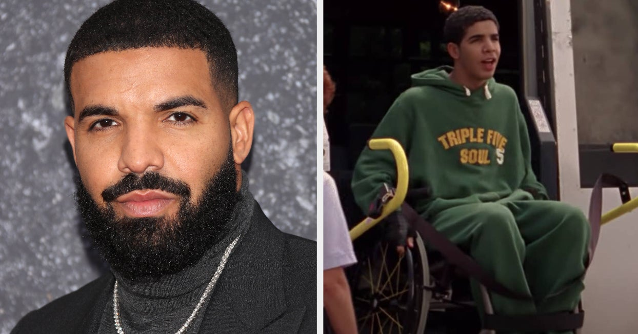 """Drake Threatened To Take Legal Action Against """"Degrassi"""" Unless His Character Was """"Healed And Taken Out Of His Wheelchair"""" Because He Worried It Made Him """"Look Soft"""""""