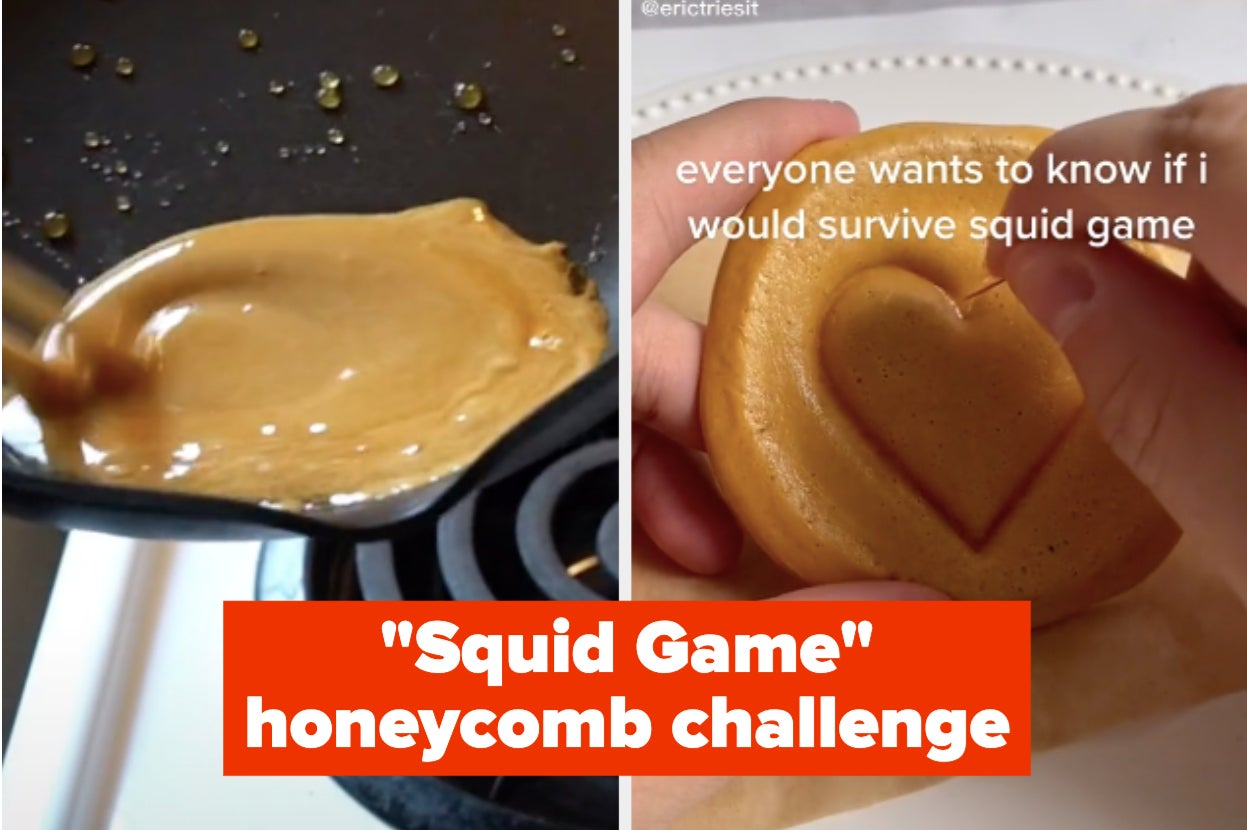 """Literally The Entire Internet Is Obsessed With Dalgona (AKA Honeycomb) Because Of """"Squid Game"""""""