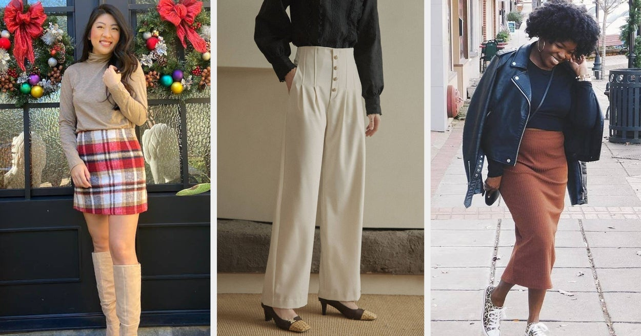 24 Super Comfortable Pants And Skirts To Pair With All Of Your Fall Tops