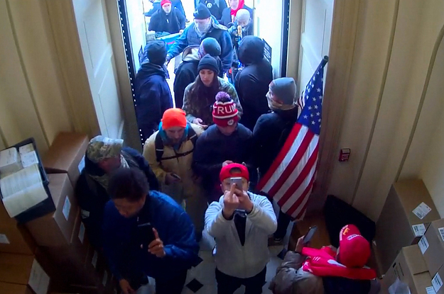 New Capitol Surveillance Footage Shows A Breach By Jan. 6 Rioters From Start To Finish