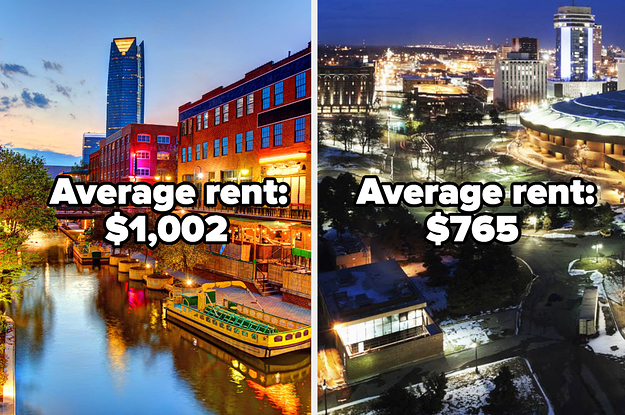 15 US Cities Where The Average Rent Is Less Than $1,800 A Month