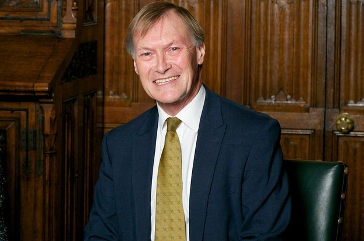 UK Lawmaker David Amess Was Stabbed And Killed In What Police Suspect Was A Terror Attack