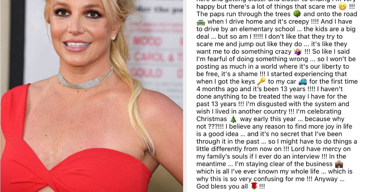 Britney Spears Called Out Her Family's Role In Her Conservatorship And Implied That She Won't Be Returning To The Music Industry Any Time Soon