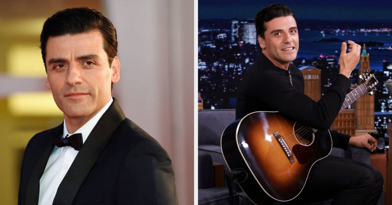 I'm Going To Need You To Secure A Private Location Stat To Watch Oscar Isaac Play An Original Rock Lullaby About Hippos