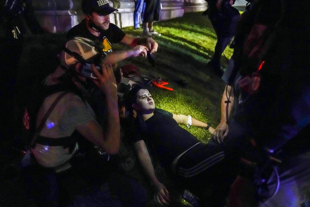 A Man Shot By Kyle Rittenhouse Is Accusing Police Of Enabling Militants During The Kenosha Protests