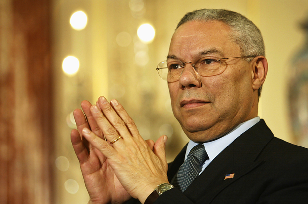 Colin Powell, The First Black Secretary Of State, Has Died Of COVID Complications