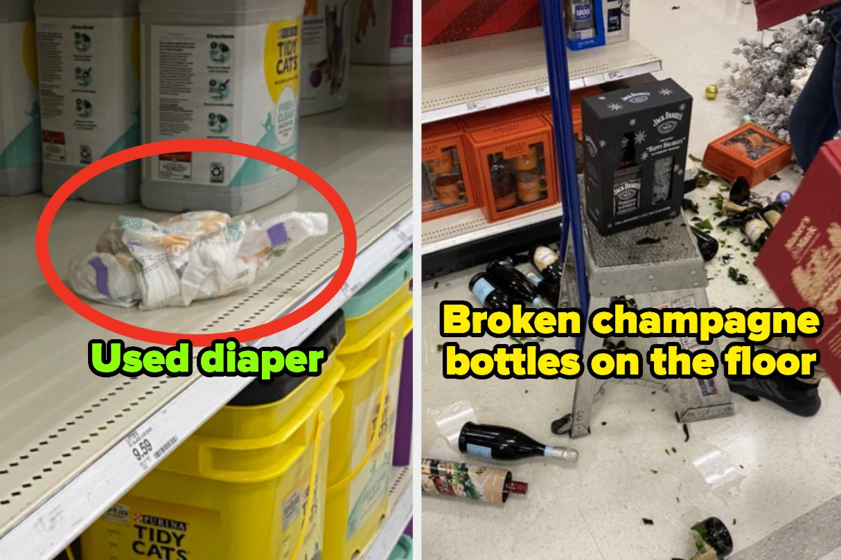 A Target Customer Left A Used Pregnancy Test In The Middle Of An Aisle, And 43 Other Monsters Who Don't...