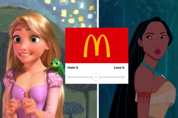 Tell Me How Much You Love (Or Hate) These Fast Food Chains To Find Out Who Your Inner Princess Is