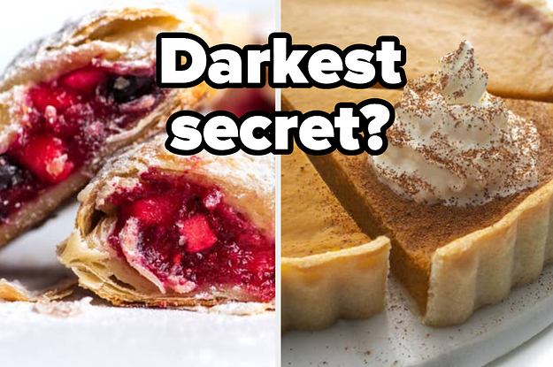 Your Darkest Secret Will Be Revealed By Your Pie Choices