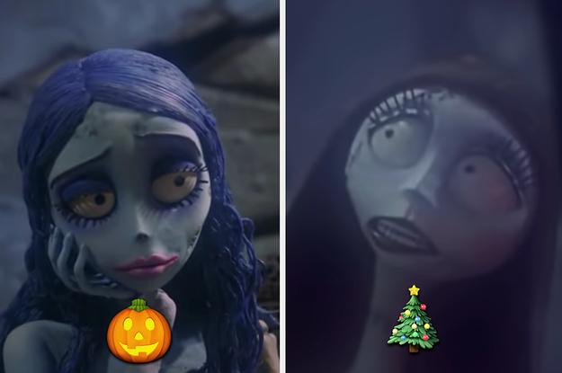 """Are You Emily From """"Corpse Bride"""" Or Sally From """"Nightmare Before Christmas"""" Based On The Halloween And Christmas Songs You Choose?"""