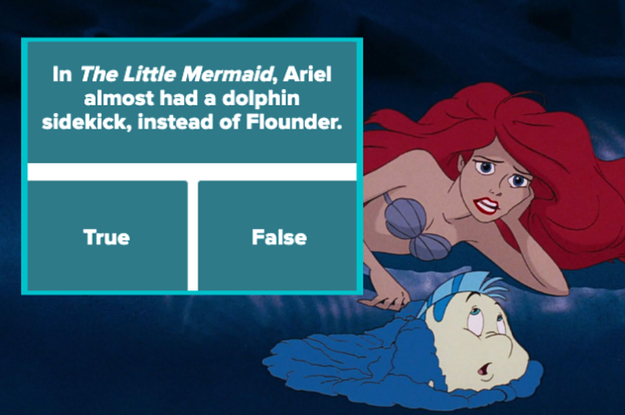 Unfortunately, Only 12% Of The Population Can Pass This 8-Level True Or False Disney Quiz