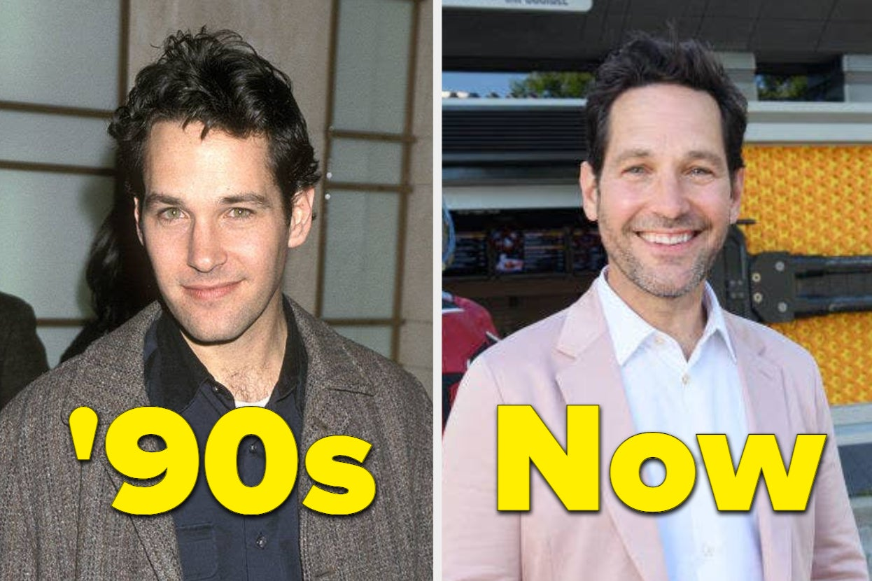 62 Celebrities Who Have Either Changed A Butt Load Or A Butt Little Since The '90s