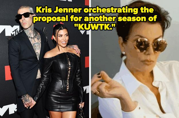 14 Memes About Kourtney Kardashian And Travis Barker's Engagement