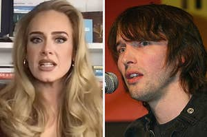 james blunt and adele