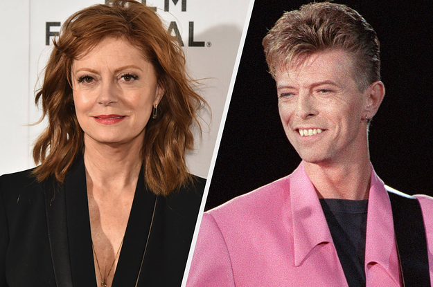 Susan Sarandon Revealed What Happened During Her Final Conversation With Ex David Bowie