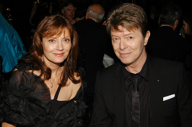 Susan Sarandon Opened Up About Her Final Conversation With David Bowie And Why She Can't Remember It
