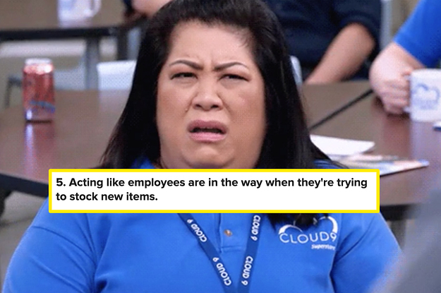 17 Things You Might Be Doing That Make Work 10 Times Harder For Grocery Store Workers