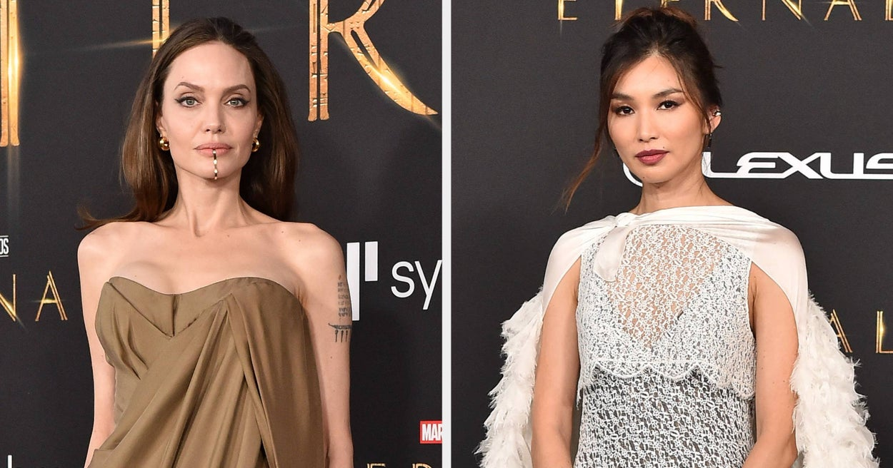 """21 """"Eternals"""" Red Carpet Moments That Prove This Cast Is Ready To Take Over The Marvel Cinematic Universe"""