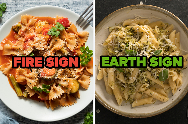 Order Some Pasta And We'll Guess Your Star Sign With, Like, 85.3% Accuracy