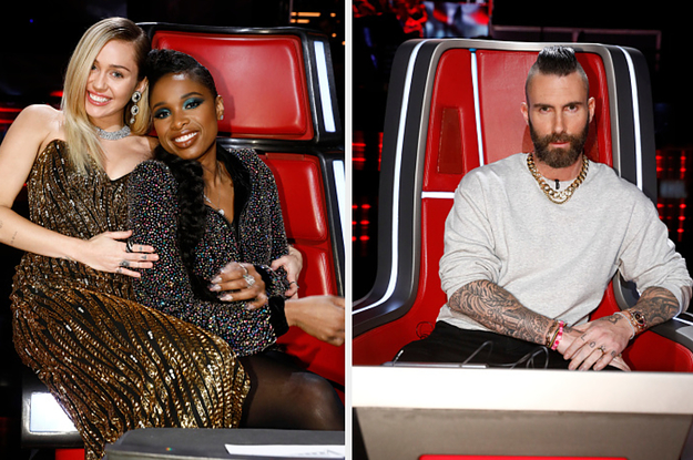 """Let's See What Everyone Thinks About These Coaches From """"The Voice"""""""