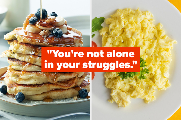 Go Out For Breakfast And We'll Tell You Something You Really Need To Hear Right Now
