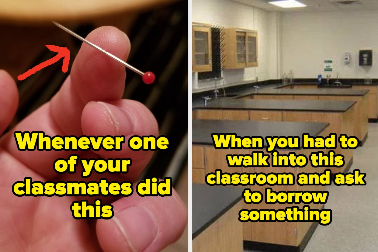 """16 Elementary School Memories Anyone Who Has An Anxiety Disorder And/Or Was Called """"A Pleasure To Have..."""