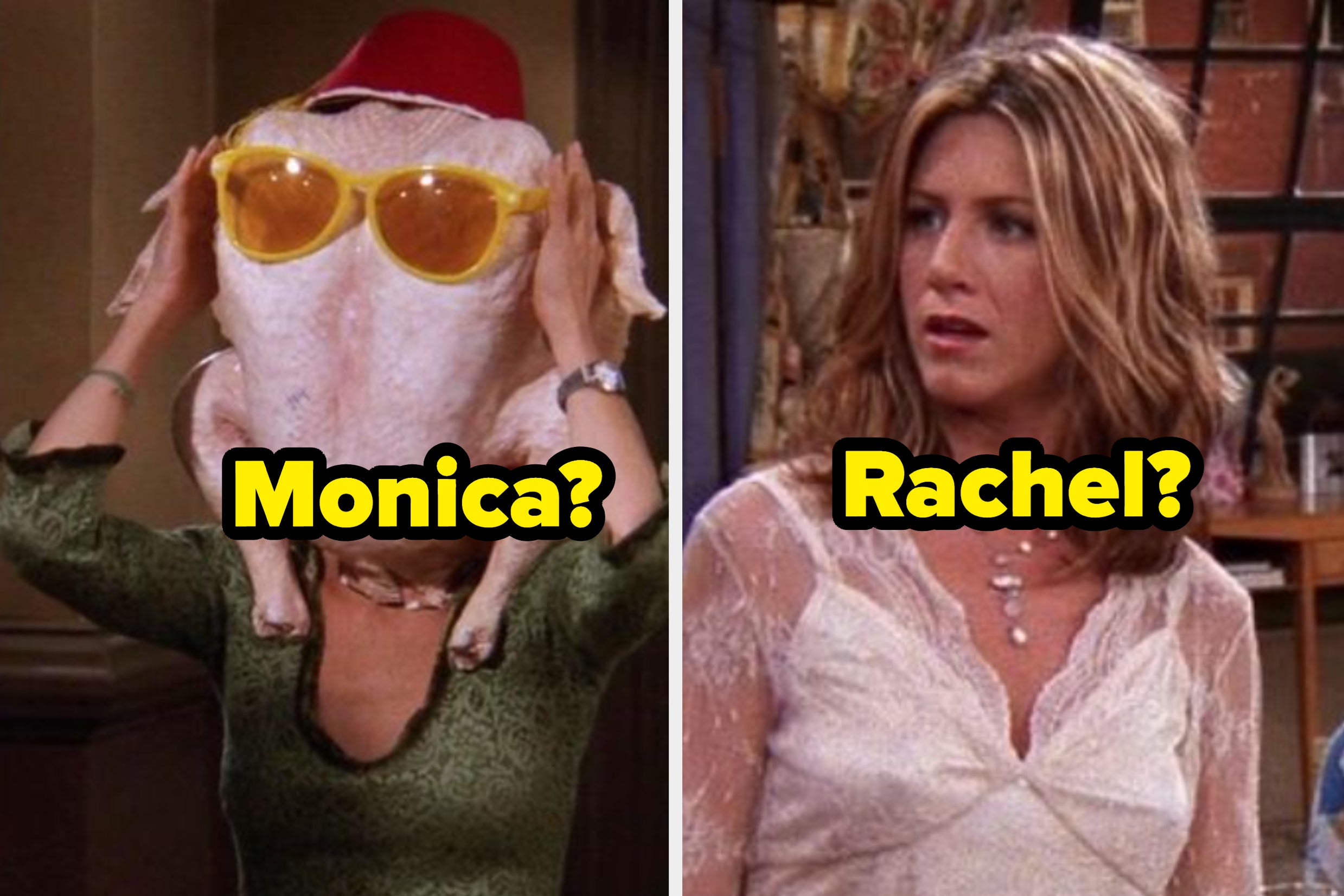 """I Swear I'll Voluntarily Eat Rachel's Trifle If We Don't Give You The Perfect """"Friends"""" Character To Spend Thanksgiving With"""