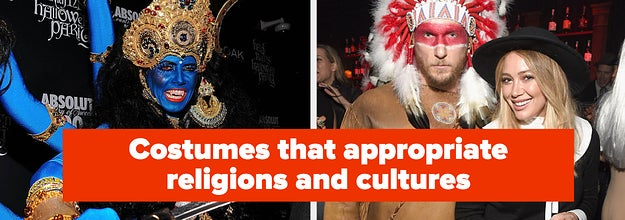 Avoid costumes that appropriate religions and cultures