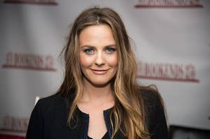 """Alicia Silverstone Signs Copies Of Her Book """"The Kind Mamma"""""""