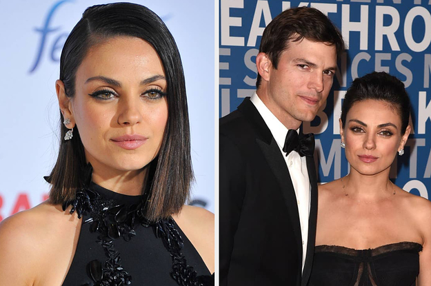 Mila Kunis Opened Up About Disagreeing With Ashton Kutcher Over Her Parenting Choices After She Encouraged Their Six-Year-Old Daughter To Push Another Child