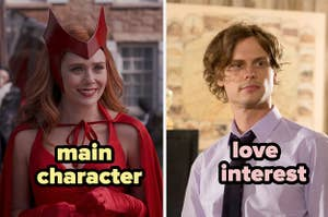 Elizabeth Olsen as the main character and Matthew Gray Gubler as the love interest